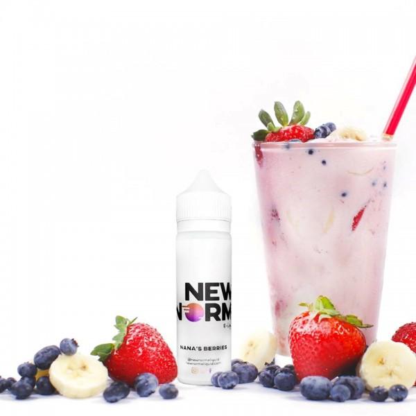 New Norm E-Liquid - Nana's Berries 60mL