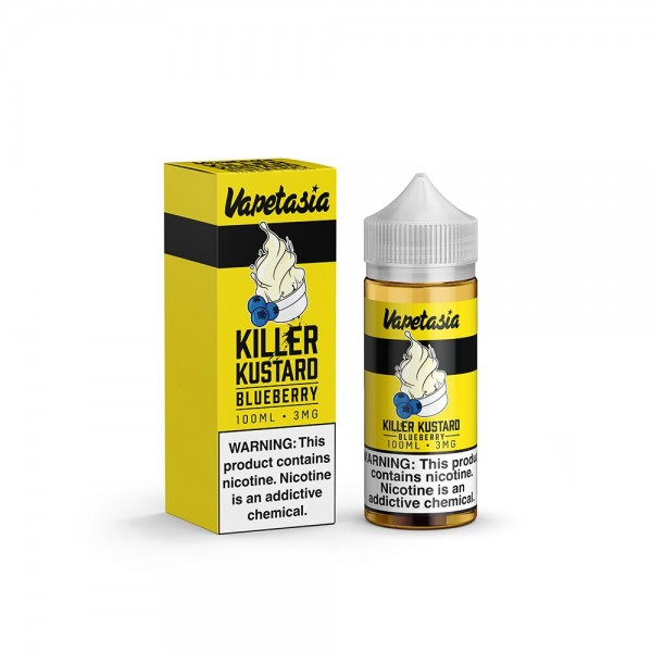 Vapetasia Killer Kustard Blueberry 100mL *****LIMITED TIME BOGO SPECIAL*****
