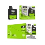 Nic5 Vapor The Box Disposable 5% Adjustable Airflow Rechargeable