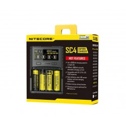 Nitecore SC4 Superb Battery Charger