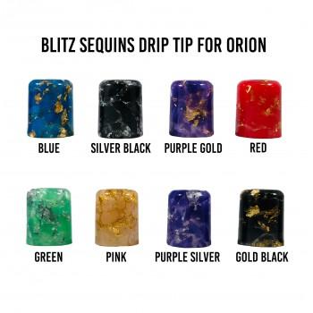 BLITZ Sequin Drip Tips - Lost Vape ORION