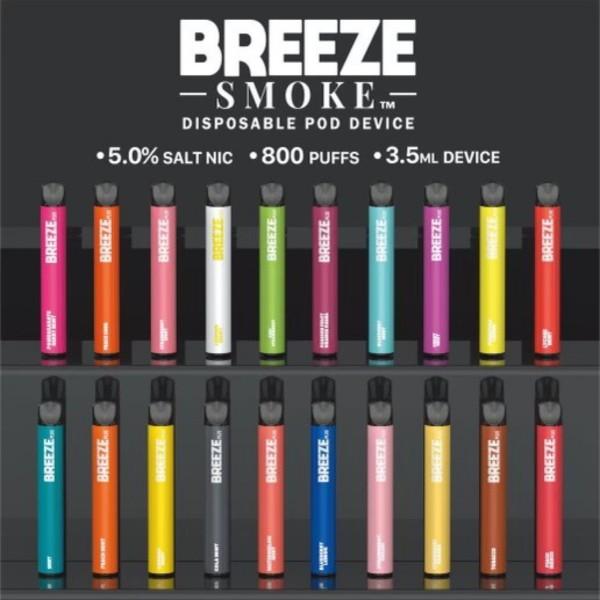 Breeze Plus Disposable 5%