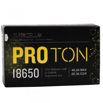 BLACKCELL Proton 18650 3018mAh Batteries (2pk)