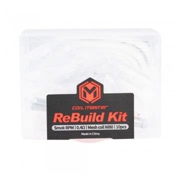 Coil Master ReBuild Kit for Smok RPM 0.4Ω Mesh