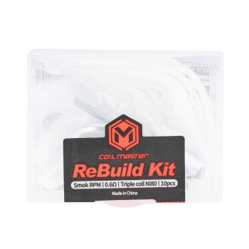 Coil Master ReBuild Kit for Smok RPM 0.6Ω Triple
