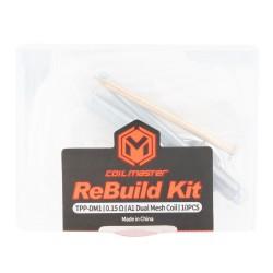 Coil Master ReBuild Kit for VooPoo Drag 3 / Drag X Plus / TPP Pod Tank (TPP-DM1)