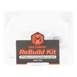 Coil Master ReBuild Kit for VooPoo Drag 3 / Drag X Plus / TPP Pod Tank (TPP-DM2)