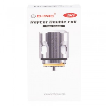 EHPRO Raptor Tank Replacement Coils 3PK