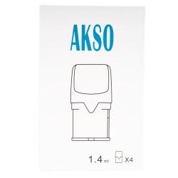 HCigar Akso OS 4pk Refillable Pods