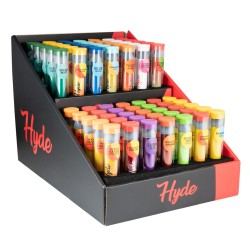 Hyde Curve S Disposable 70 Count Display