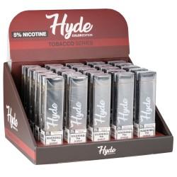 Hyde Color Tobacco Series 25CT Display
