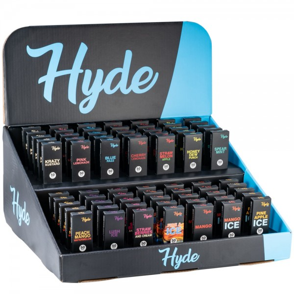 Hyde Disposables 70 Count Display