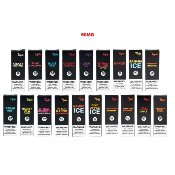Hyde Original Singles 50mg (10 Count Bulk Box Available)