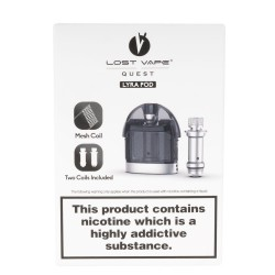 Lost Vape Quest Lyra Replacement Pod w/ 2 Coils