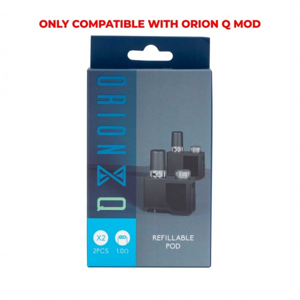 Orion Q 2pk Replacement Pods by Lost Vape