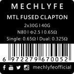 Mechlyfe MTL Pre-Built Coils 6PK