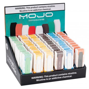 Mojo Vape Disposable Pod Kit 60 Count Display