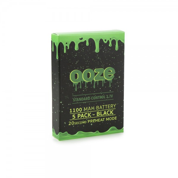 OOZE Standard 5pk 1100mAh Batteries