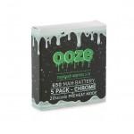 OOZE Standard 5pk 650mAh Batteries