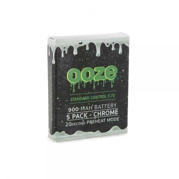 OOZE Standard 5pk 900mAh Batteries
