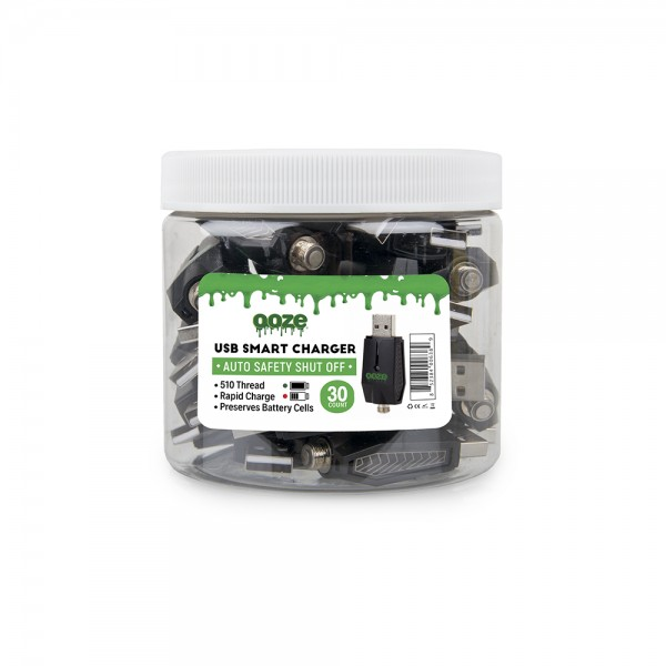 OOZE USB Smart Chargers - 30 Count Container