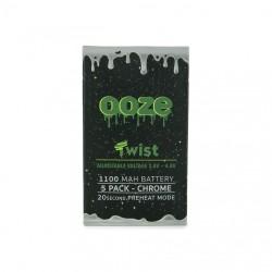 OOZE Twist 5pk 1100mAh Batteries
