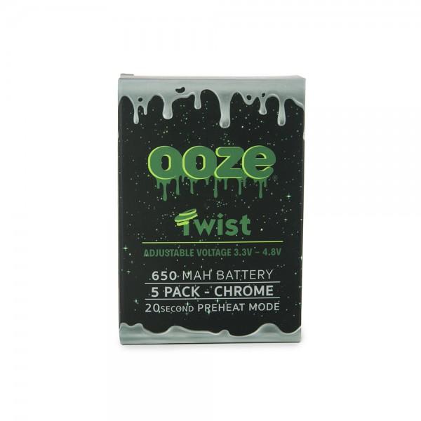 OOZE Twist 5pk 650mAh Batteries