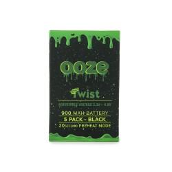 OOZE Twist 5pk 900mAh Batteries