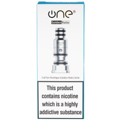 OneVape Golden Ratio 5pk Coils