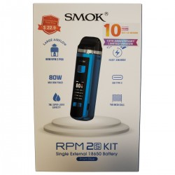 SmokTech RPM 2s Kit - 10th Anniversary Edition (Pre-Priced Packaging / MSRP $22.90)