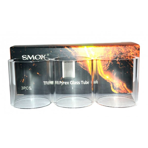 SmokTech TFV8 BIG BABY Replacement Glass 3 PACK
