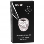 Sense Screen Mesh 3pk Coils