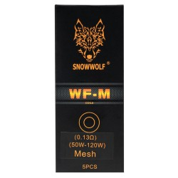 Sigelei SnowWolf WF-M Mesh 5pk Coils