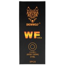 Sigelei SnowWolf WF 5pk Coils