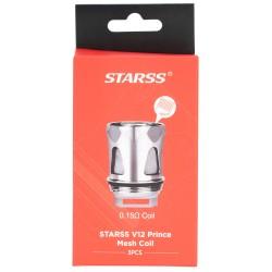 Starss V12 Prince Mesh 3pk Coils by Starss Vape