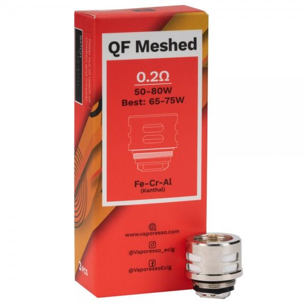 Vaporesso QF Meshed 3pk Coils