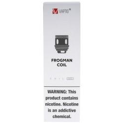Frogman 5pk Mesh M1 Coils by VAPTIO