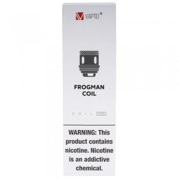 Frogman 5pk Strip T1 Coils by VAPTIO