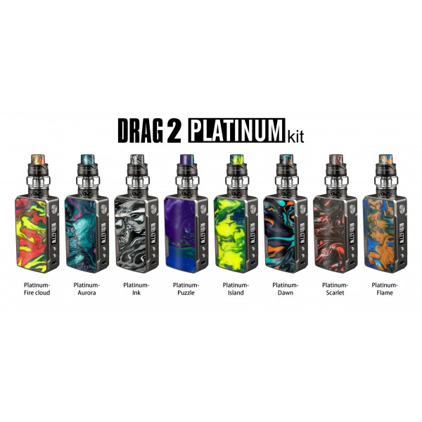 VooPoo DRAG 2 PLATINUM Edition Kit w/ UFORCE T2 Tank