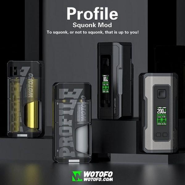 Wotofo Profile Squonk Mod