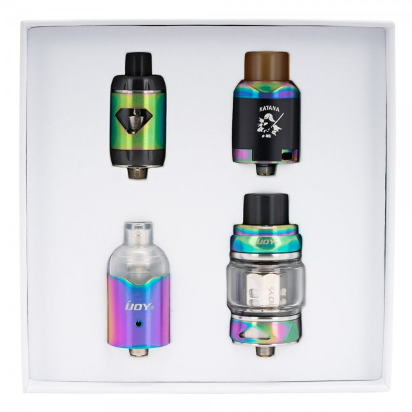 iJoy KATANA 4-in-1 Atomizer Set
