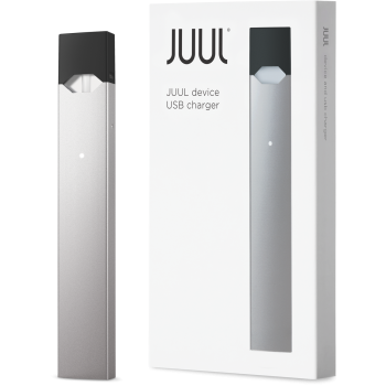 Juul Silver Basic Kit (Device & Charger) Limited Edition