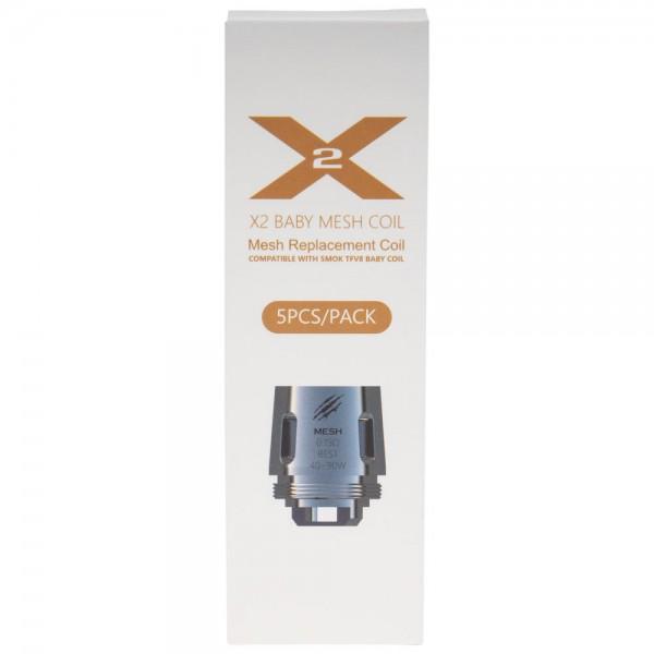 X2 Baby MESH 5pk Coils by VapeMons
