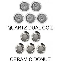 Yocan Evolve Plus Coil Quartz and ceramic donut 5 Pack